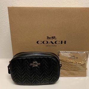 Coach mini belt bag
